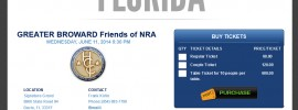 Greater Broward Friends of NRA Banquet on June 11, 2014